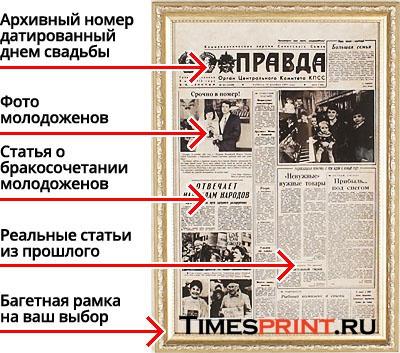 Газета в подарок своими руками 96